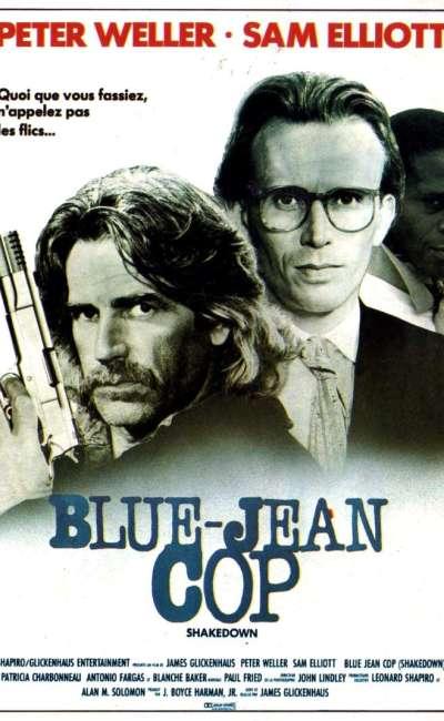 Blue-jean cop, l'affiche
