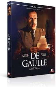 De Gaulle, la jaquette blu-ray