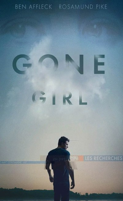 Gone Girl de David Fincher, cover VOD france