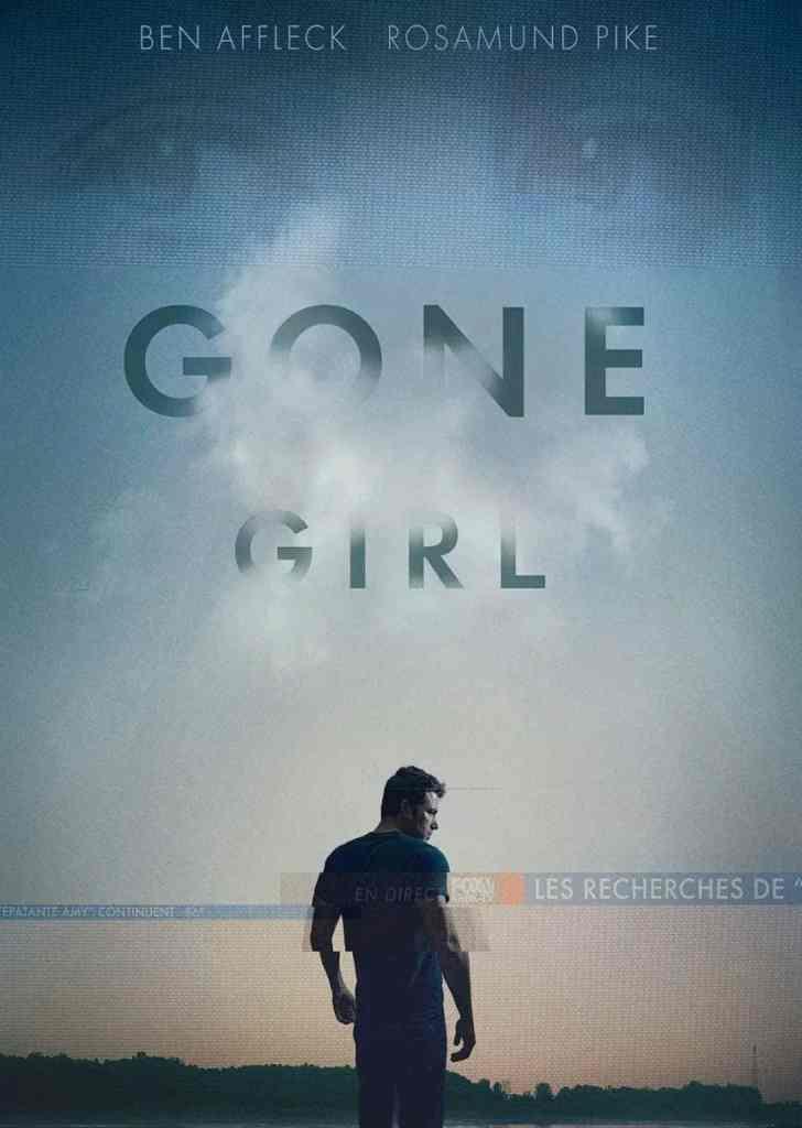 Gone Girl de David Fincher, cover VOD france
