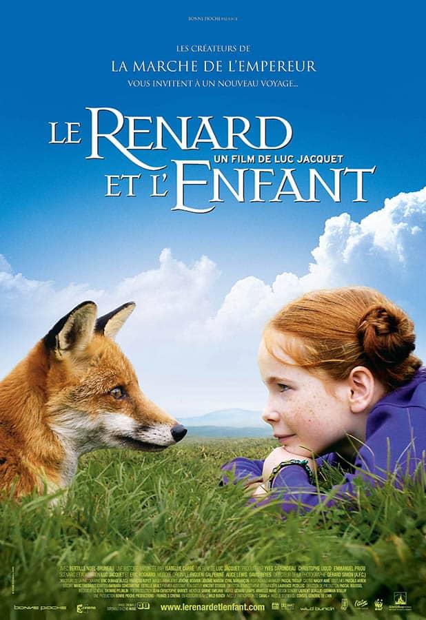 Le renard et l'enfant, affiche 2007