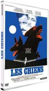 Les chiens, la jaquette DVD