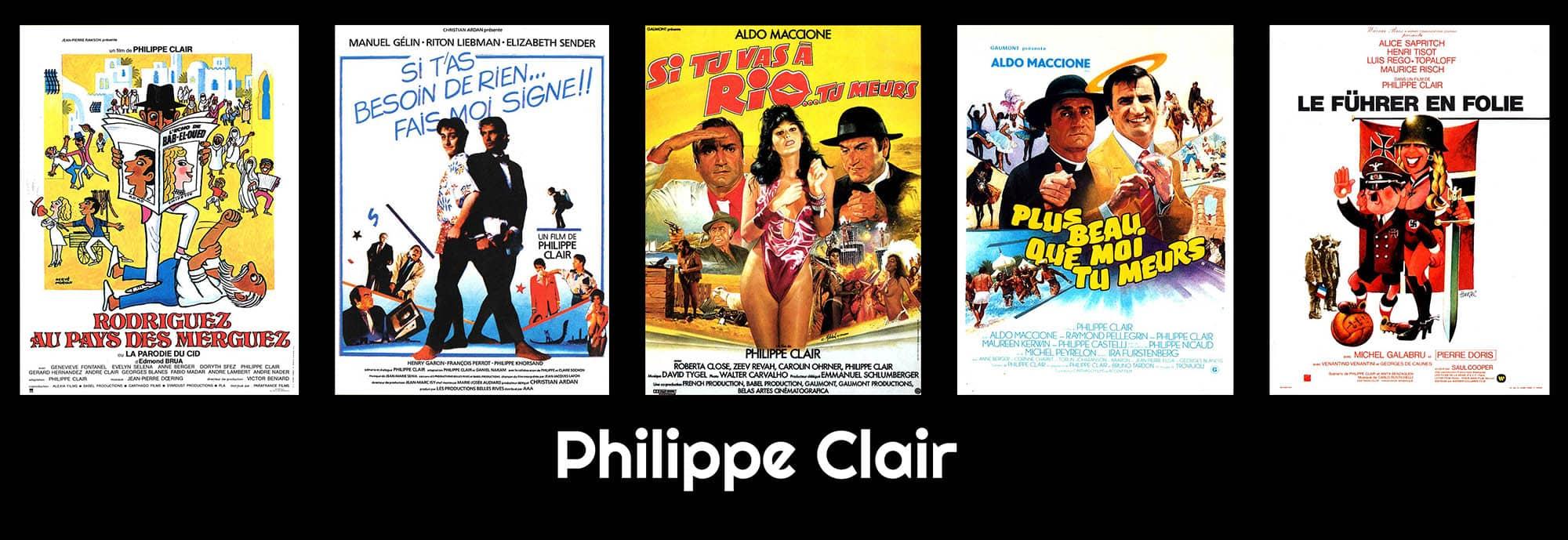 Le cinéma de Philippe Clair