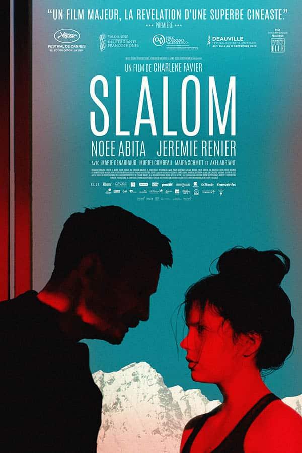 Slalom, affiche du film de Charlène Favier