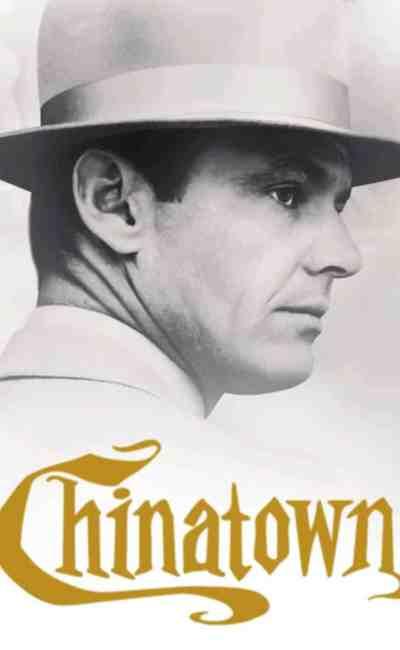 Jack Nicholson dans Chinatown, cover VOD Androïd