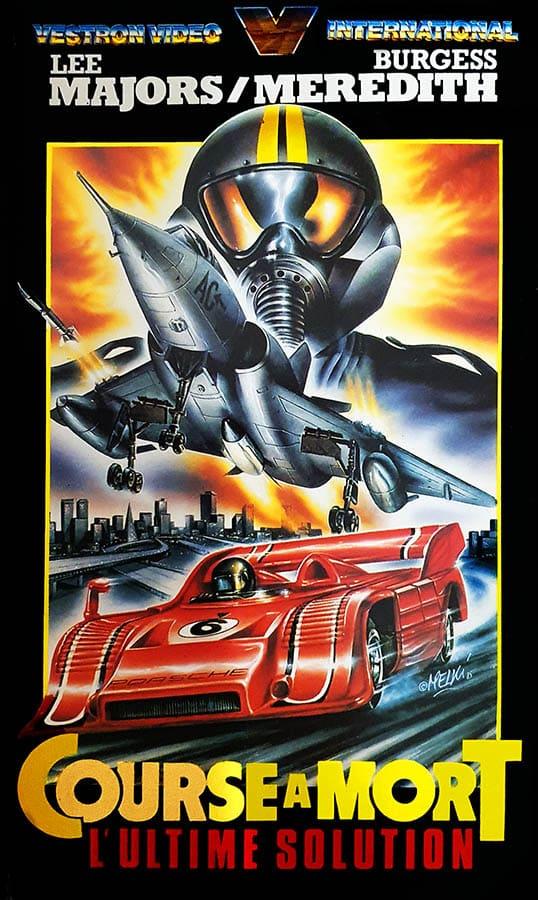 Course à mort, l'ultime solution : jaquette VHS (the last chase) - Melki