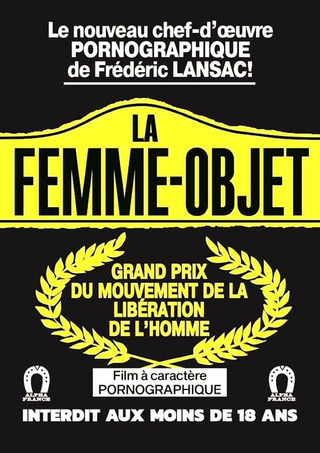 La femme objet, affiche du film de Claude Lansac
