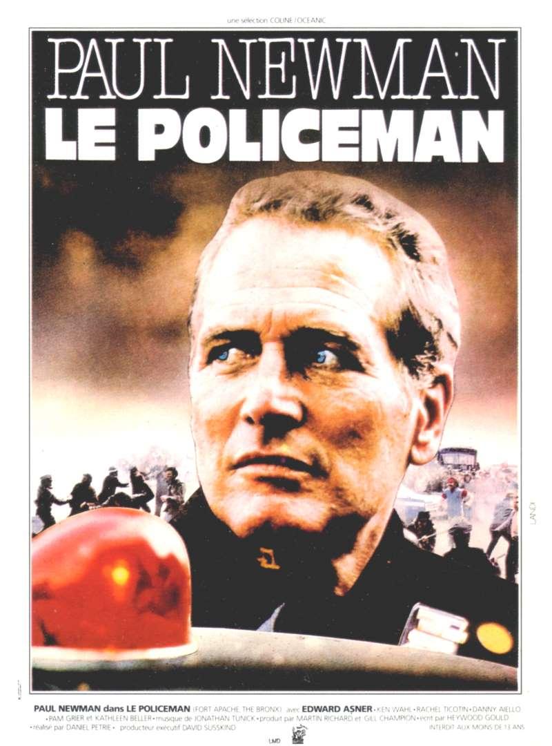 Le policeman, l'affiche