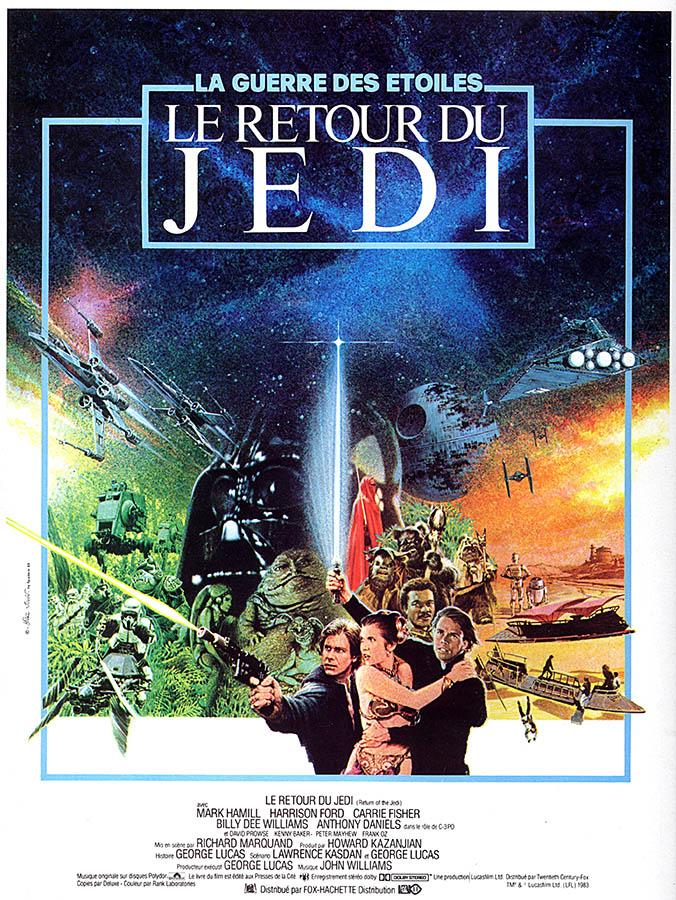 Le retour du Jedi par Michel Jouin par Spadem