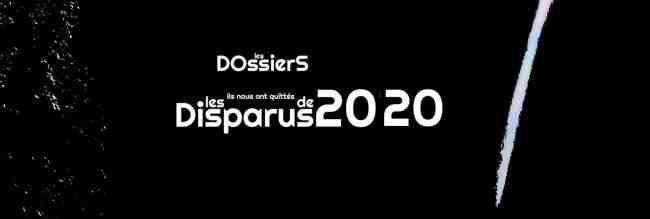 Les disparus de 2020