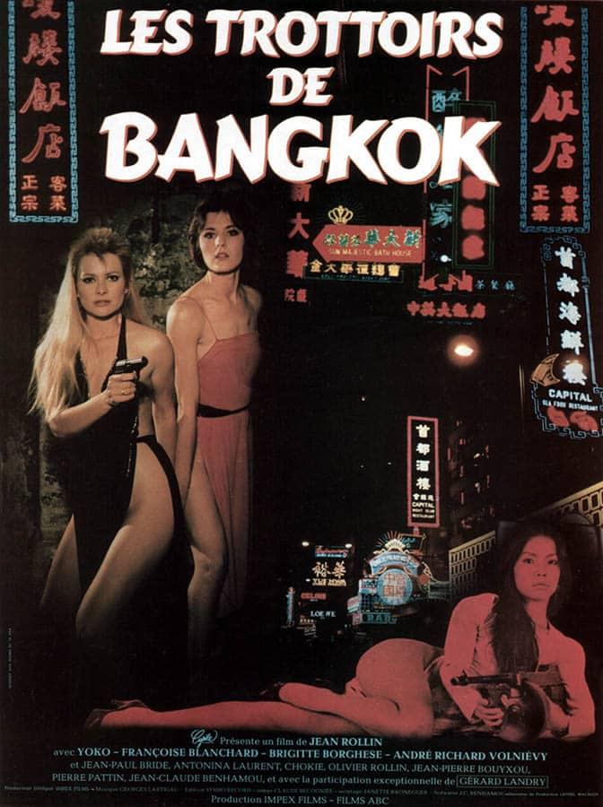 Les trottoirs de Bangkok; affiche du film de Jean Rollin