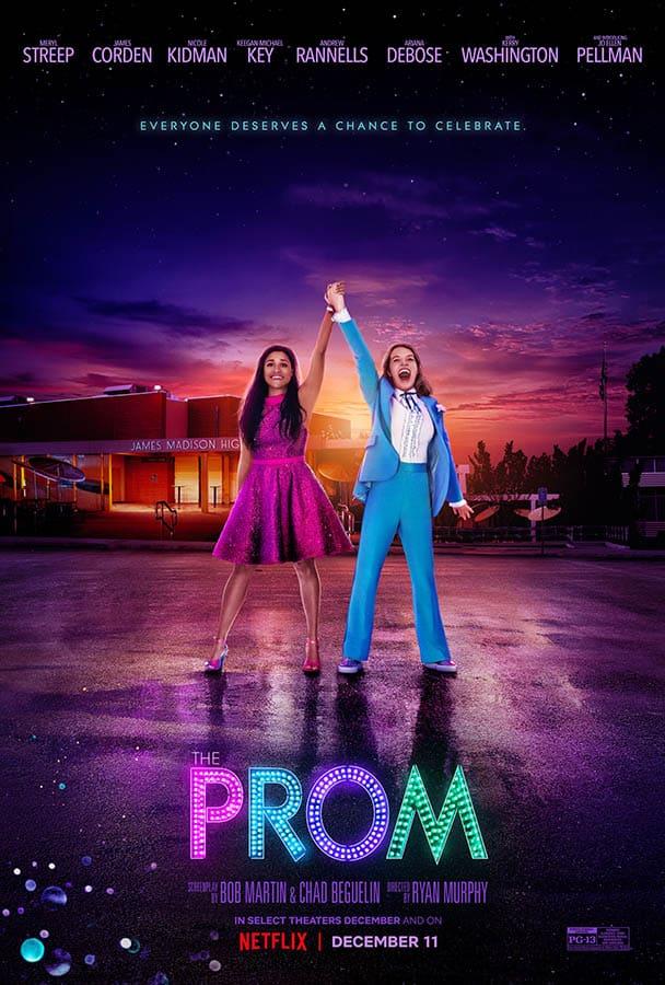 Joe Ellen Pellman et Ariana DeBose dans Prom (affiche)