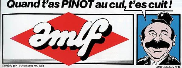 Pinot simpe-flic, promo AMLF