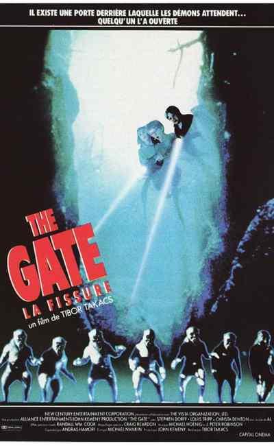 The Gate La fissure : affiche de Landi (un film de Tibor Takacs)