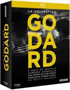 Coffret Godard, jaquette blu-ray