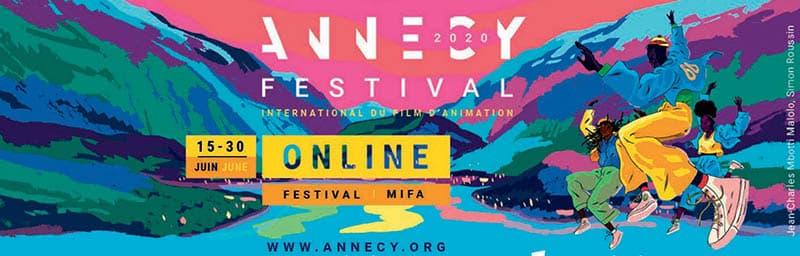 Le festival d'Annecy en ligne