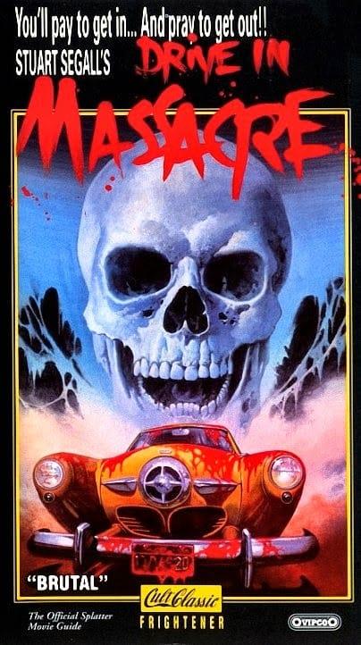 Drive-in massacre artwork