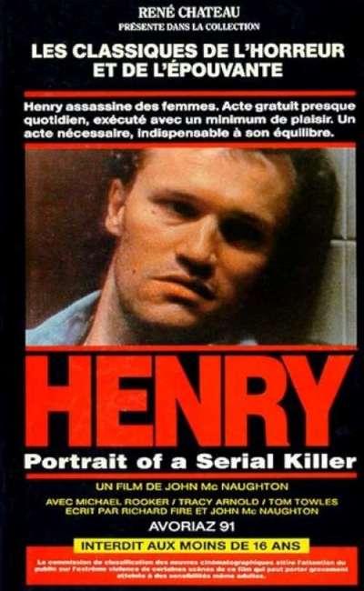 Hnery, portrait d'un serial-killer, la jaquette VHS