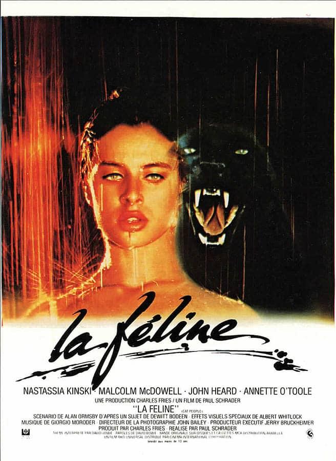 La Féline avec Nastassja Kinski, affiche