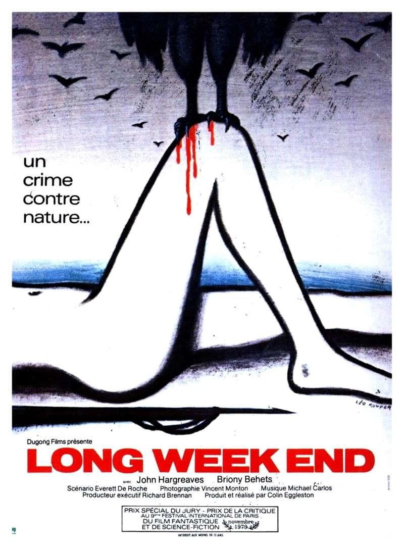 Long weekend, l'affiche 1980