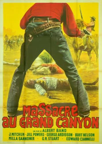 Affiche du film Massacre au grand canyon