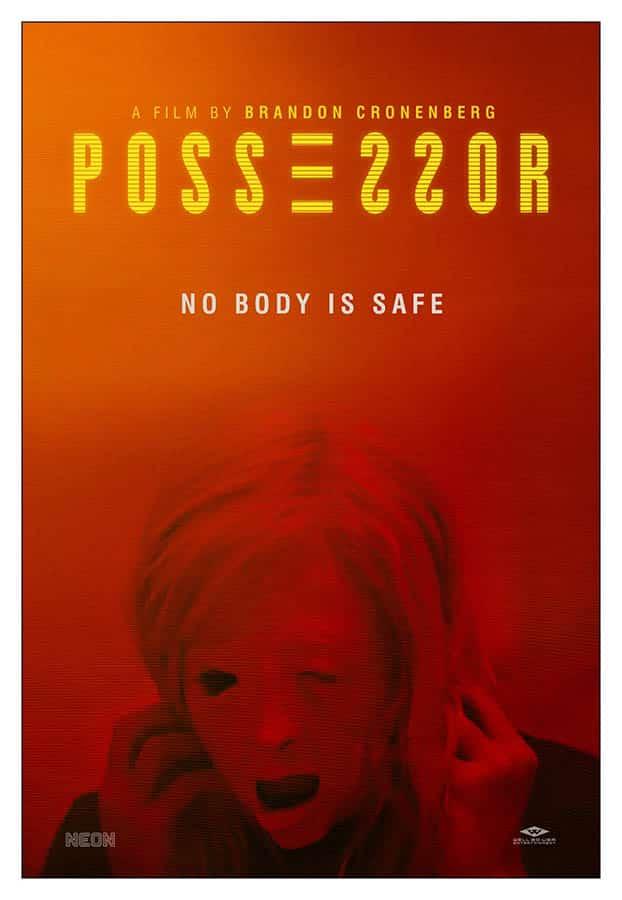 Possession : affiche américaine du film de Brandon Cronenberg