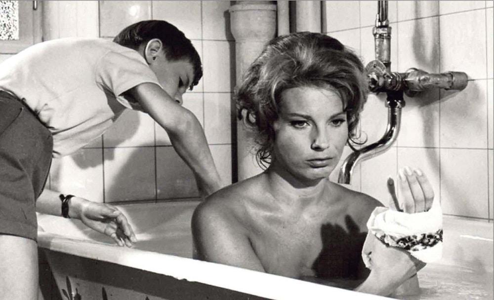 Gunnel Lindblom dans Le silence d'Ingmar Bergman