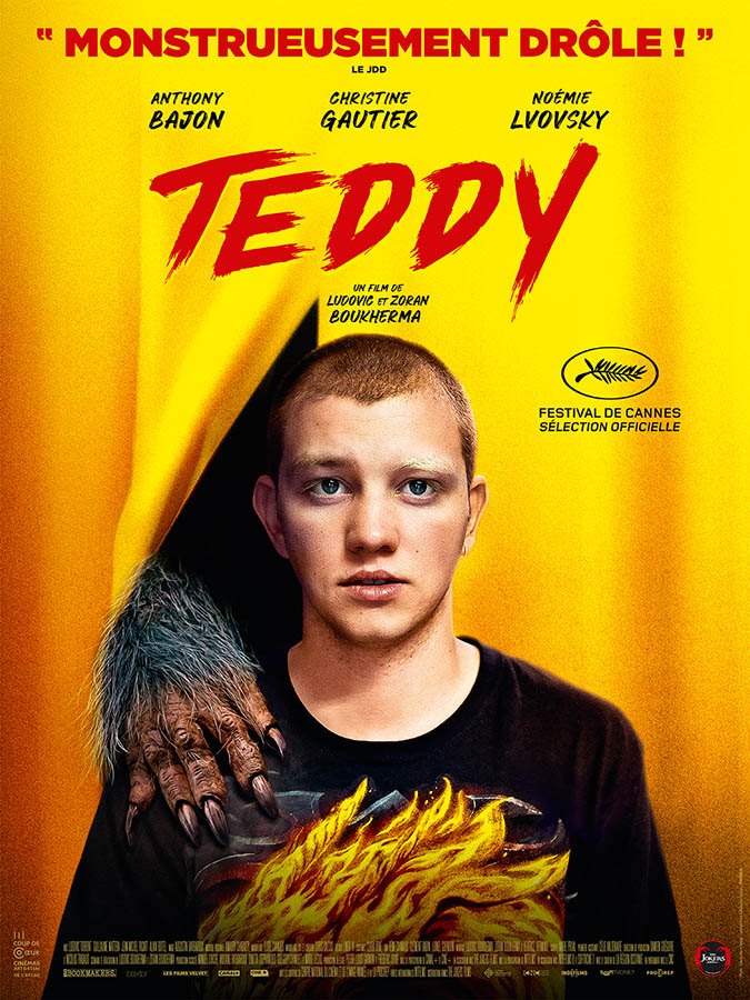Teddy, affiche alternative (phrase d'accroche)