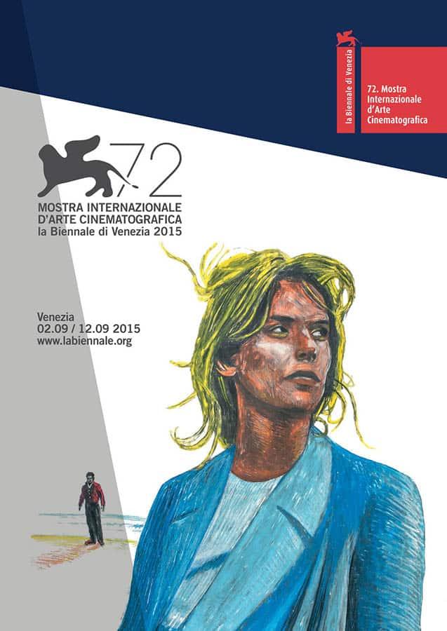 Affiche du festival de Venise 2015, Nastassia Kinski (Paris,Texas)