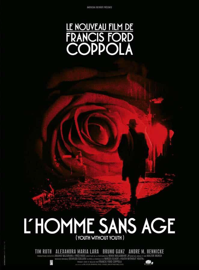 L'homme sans âge, affiche du film de Francis Ford Coppola