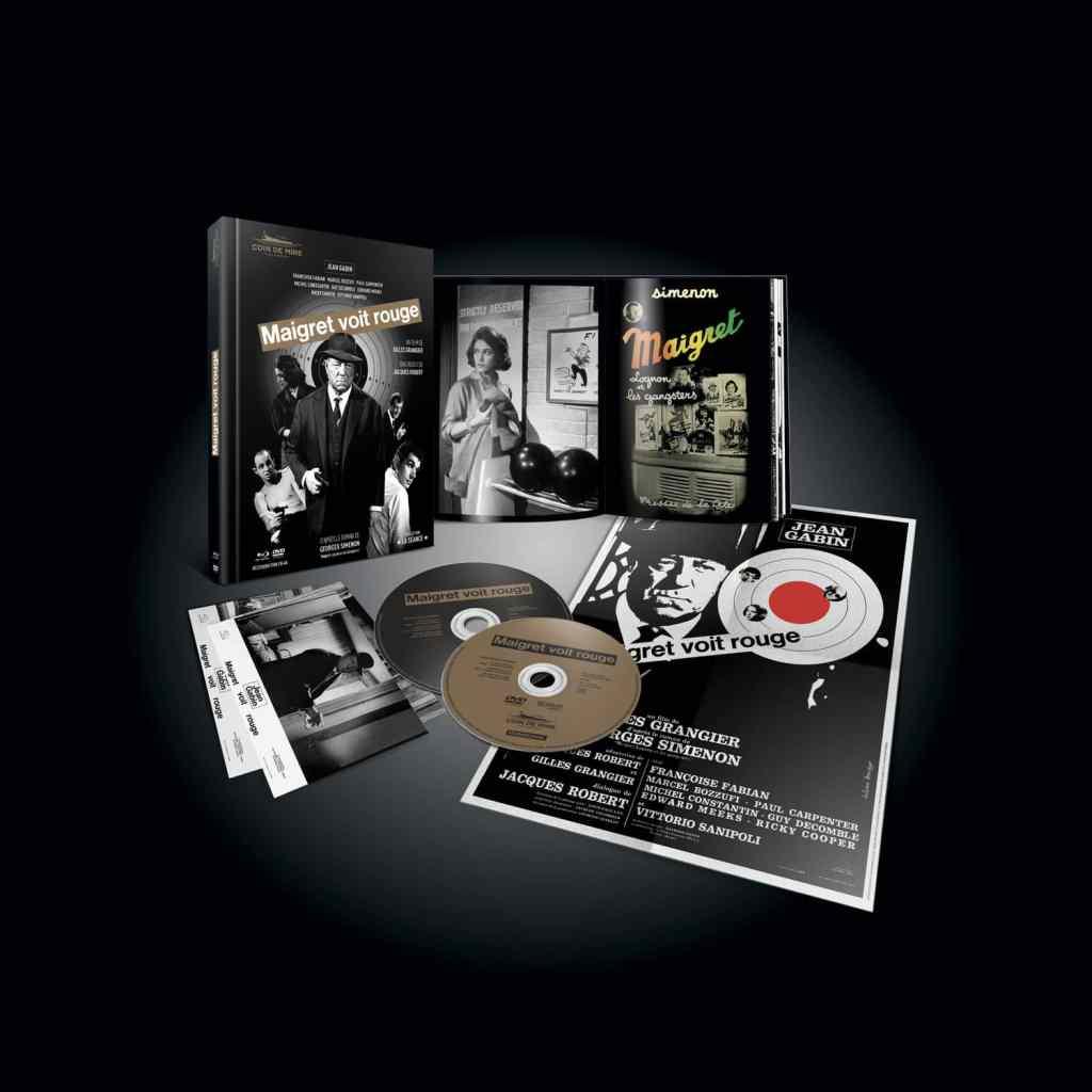 Edition collector chez Point de Mire de Maigret Voit Rouge