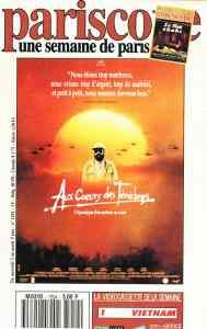 Au coeur des ténèbres de Fax Bahr et George Hickelooper (affiche, 1992)