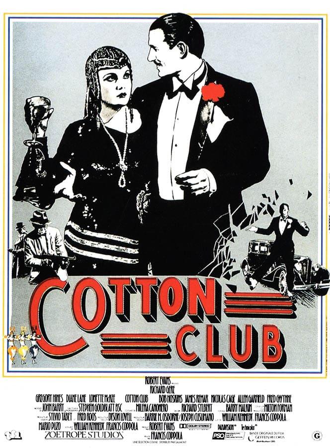 Affiche de Cotton Club de Francis Ford Coppola