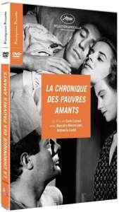 La chronique des pauvres amants, jaquette dvd
