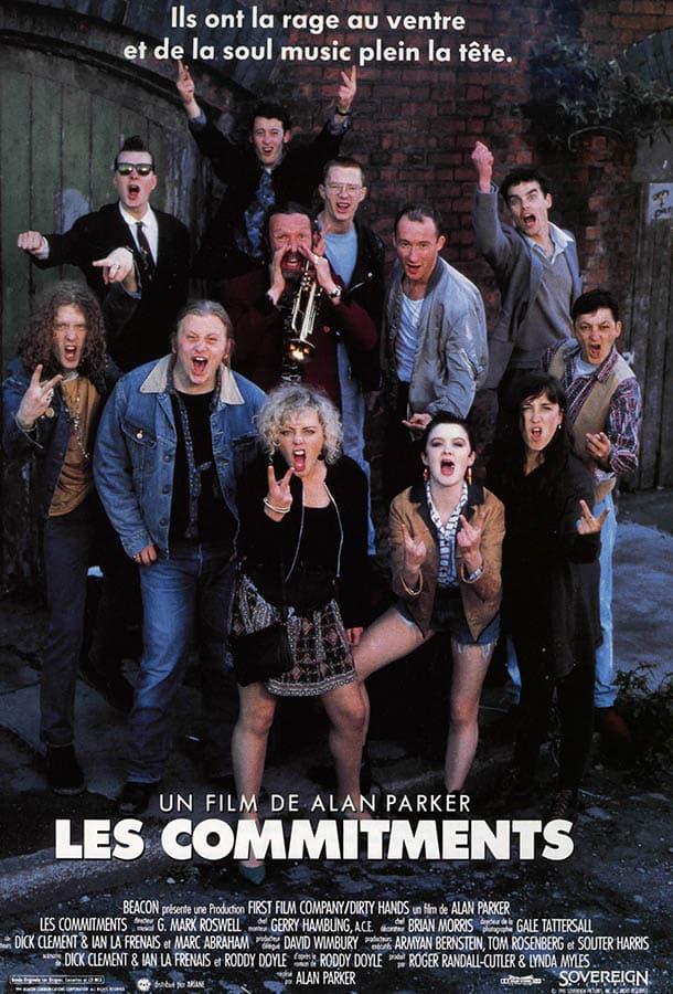 Les Commitments, affiche française 1991