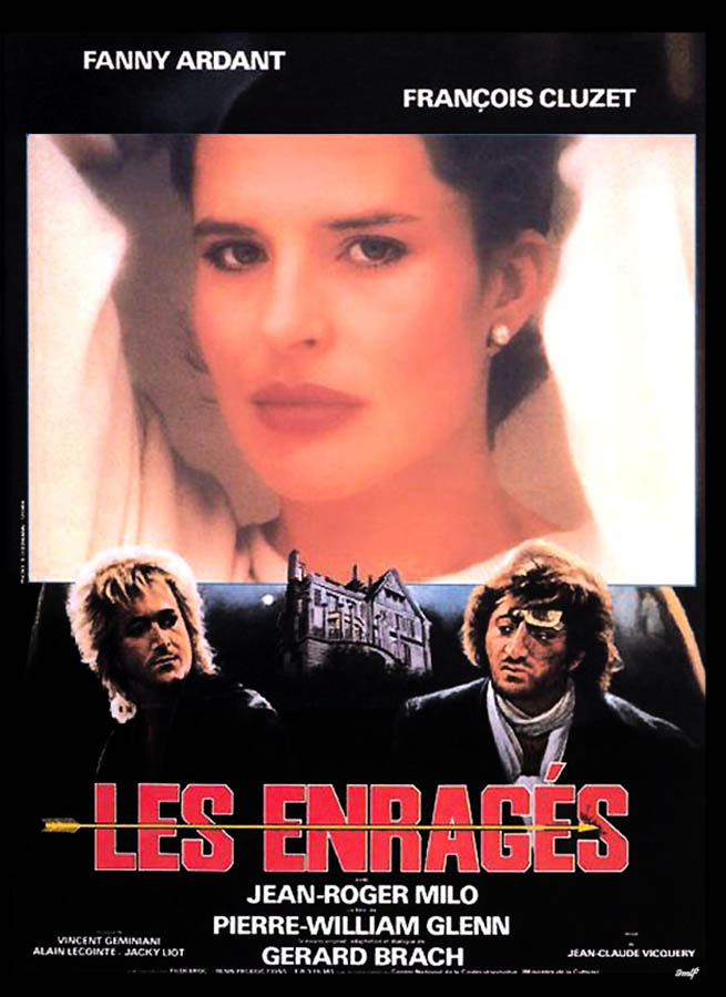 Les enragés, affiche (1985)