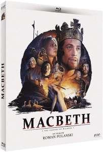 Macbeth, la jaquette blu-ray