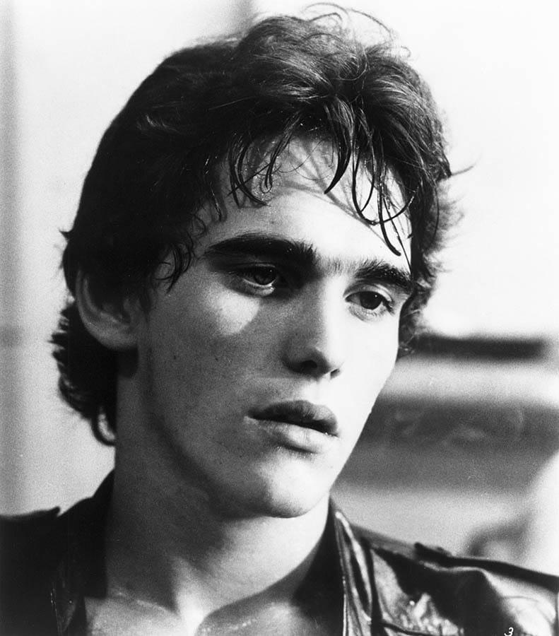 Matt Dillon dans Rusty James de Francis Ford Coppola