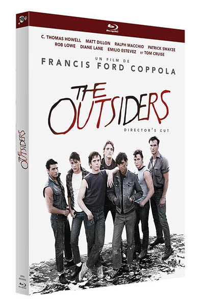 The Outsiders, cover blu-ray director's cut 2013