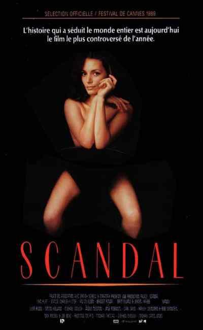 Scandal, affiche du film de Michael Caton-Jones