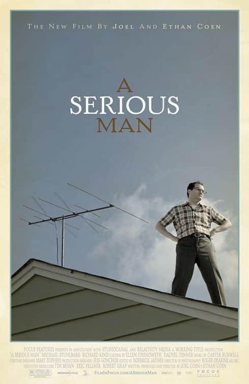 Affiche américaine de A Serious Man