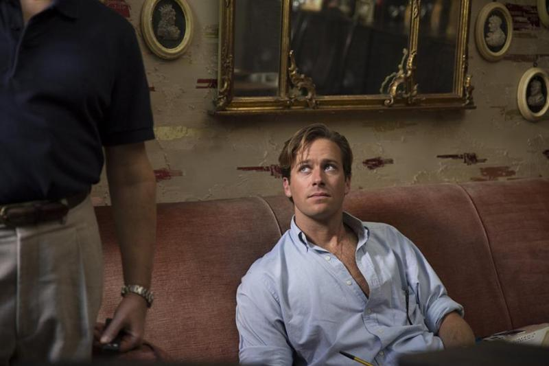 Armie Hammer dans Call me by your name de Luca Guadagnino