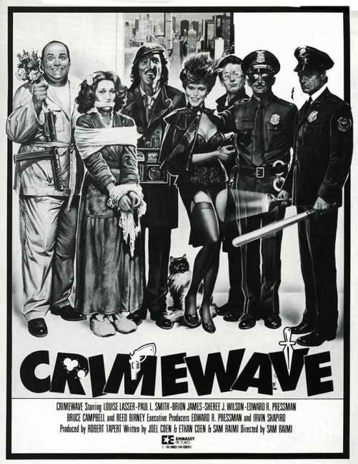 L'affiche cannoise de Crimewave (Mort sur le gril)