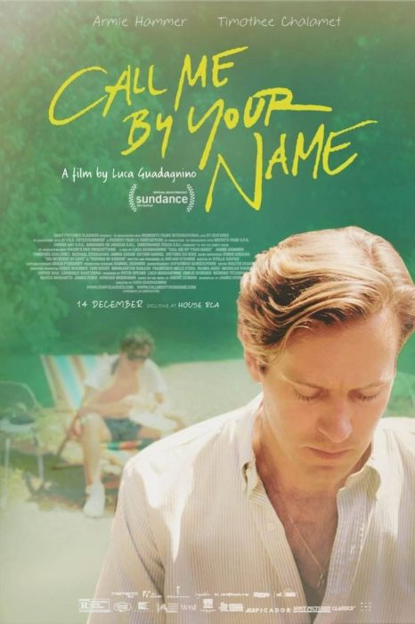 Armie Hammer dans Call Me By Your Name
