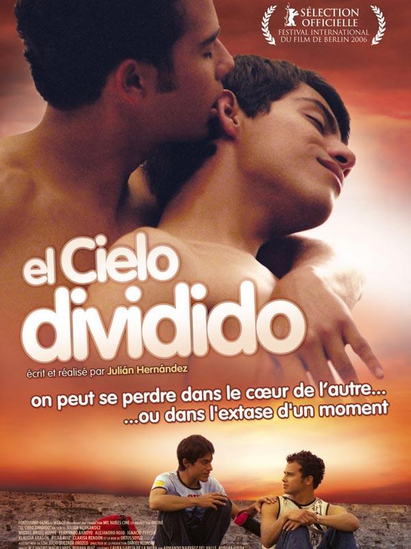 El Cielo divido, affiche de Julián Hernández (cinéma)