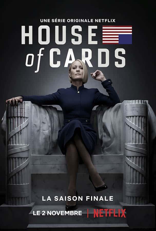 House of Cards, affiche de la saison 6, saison finale