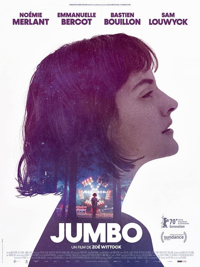 Jumbo, affiche du film de Zoé Wittock, avec Noémie Merlant