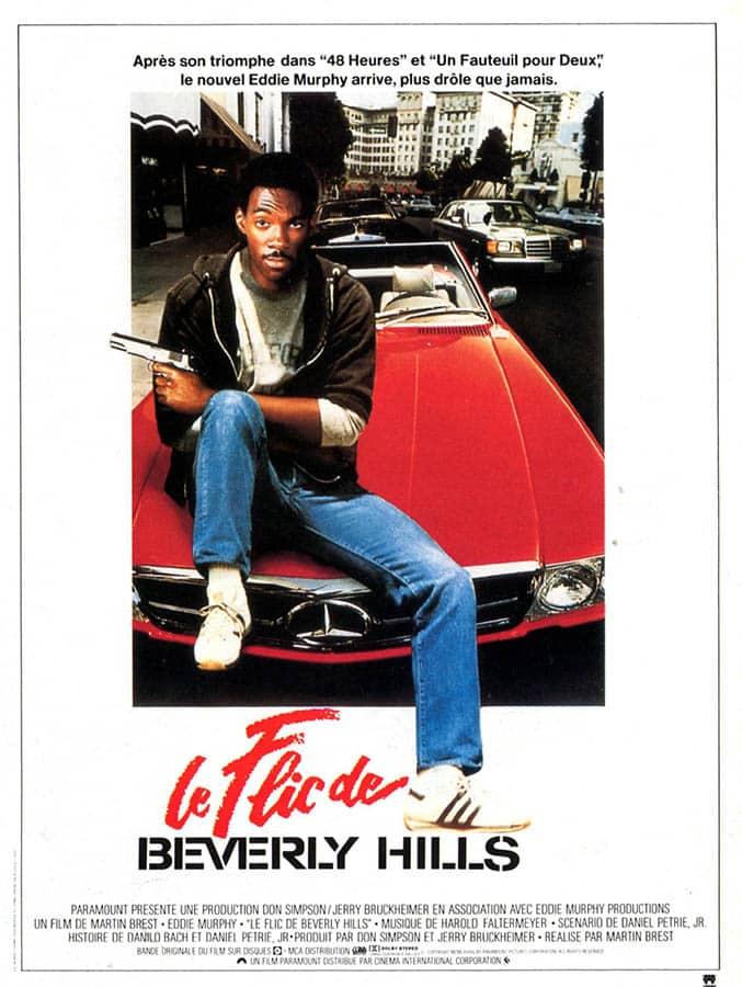 Le flic de Beverly Hills, affiche du film 1985