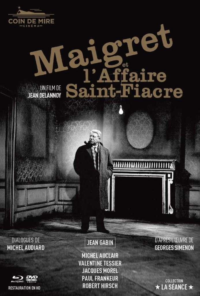 Maigret et l'affaire Saint-Fiacre, la jaquette mediabook