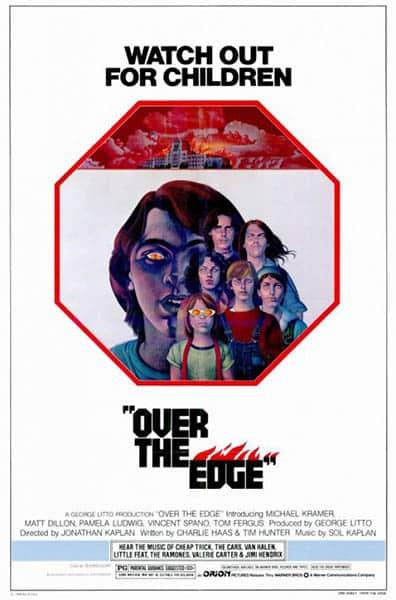 Over the Edge (Violences sur la ville), affiche américaine